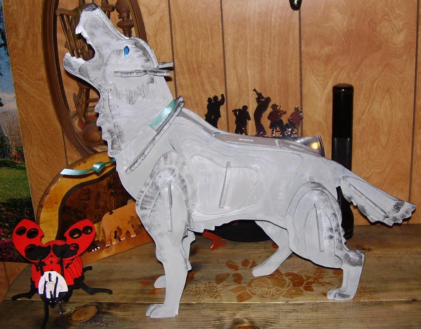 Mournful Wolf