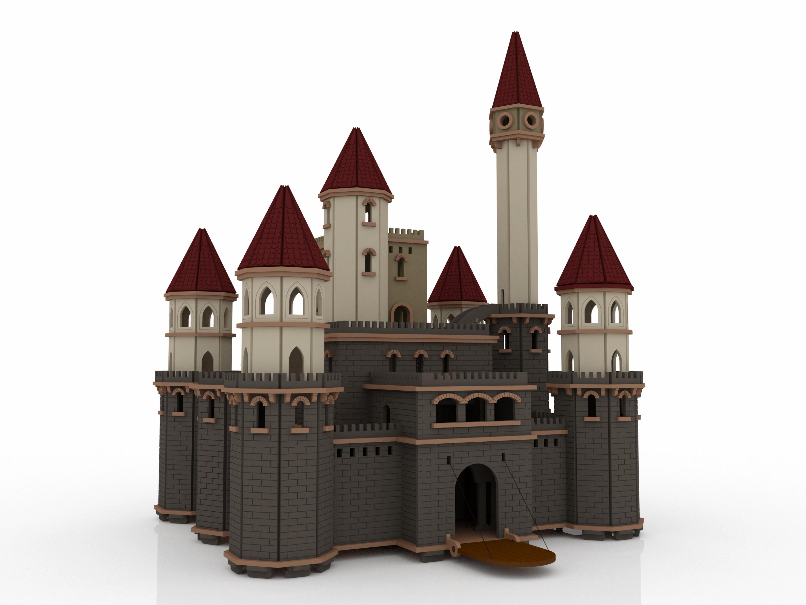 New designs makecnc workshops for Castle design