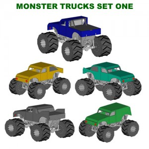 monster-trucks-setone-lasercut-toys-models_500